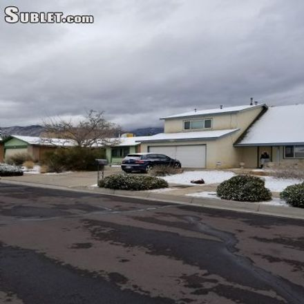 Rent this 4 bed house on 624 Vista Abajo Drive Northeast in Albuquerque, NM 87123