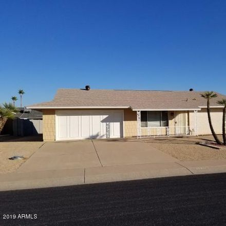 Rent this 2 bed house on 17411 North Appaloosa Drive in Sun City, AZ 85373