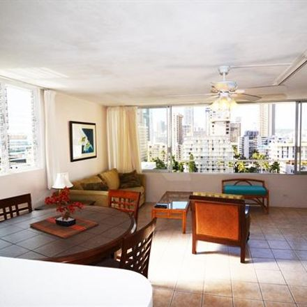 Rent this 1 bed condo on Kalakaua Shopping District in Seaside Towers, 435 Seaside Avenue