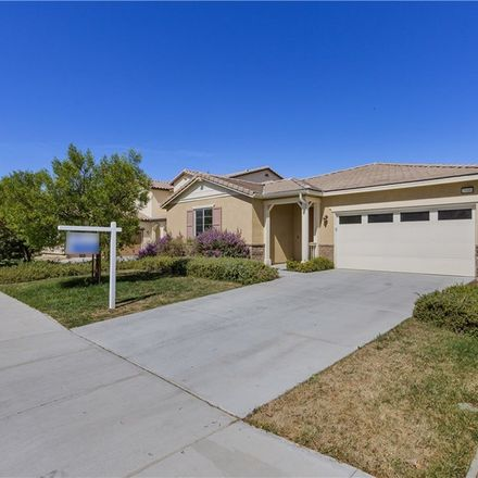 Rent this 4 bed house on Waterhole Canyon Dr in Menifee, CA