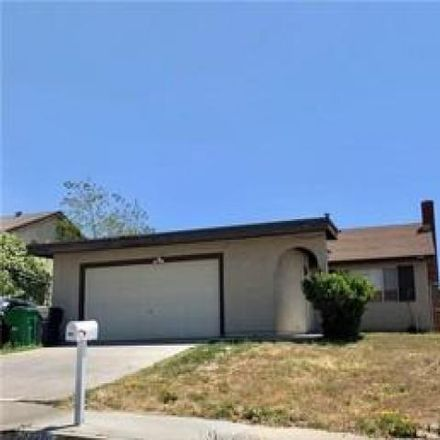 Rent this 3 bed house on 24843 Moontide Lane in Moreno Valley, CA 92557