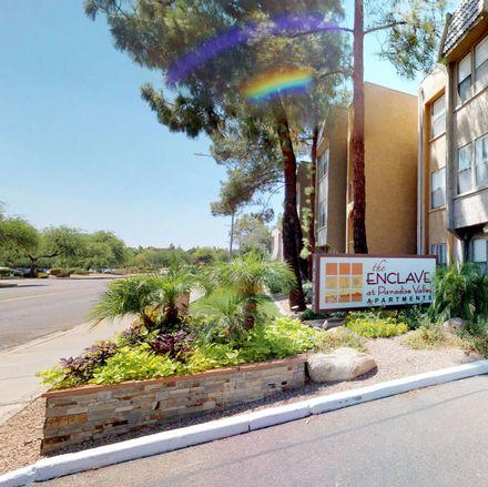 Rent this 1 bed apartment on Village Fairways in Phoenix, AZ 85032-7701