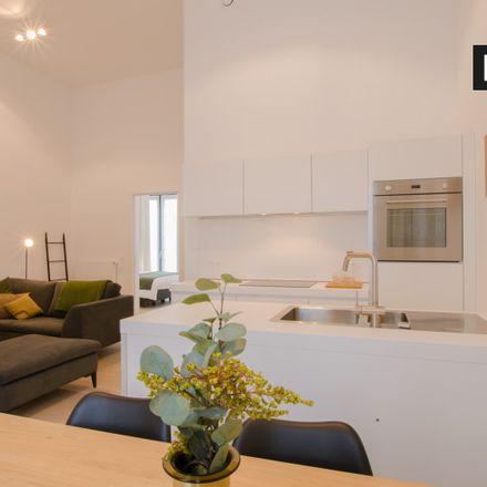 Rent this 1 bed apartment on Rue du Prince Royal - Koninklijke-Prinsstraat 22 in 1000 Ixelles - Elsene, Belgium