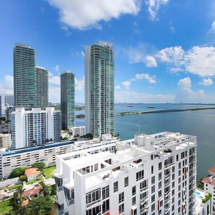 Rent this 3 bed condo on 600 Northeast 27th Street in Miami, FL 33137