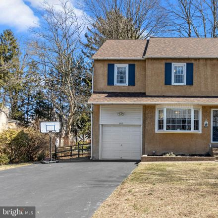 Rent this 3 bed house on 767 Redwood Drive in Upper Southampton Township, PA 18966