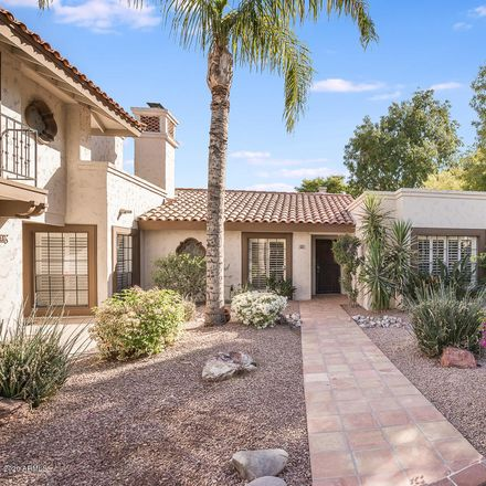 Rent this 2 bed townhouse on 6349 North 78th Street in Scottsdale, AZ 85250