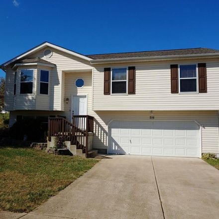 Rent this 3 bed house on Santschi Drive in Herculaneum, MO 63048