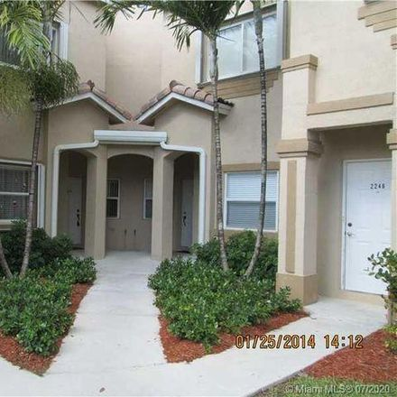 Rent this 3 bed condo on 2238 Southeast 26th Lane in Homestead, FL 33035
