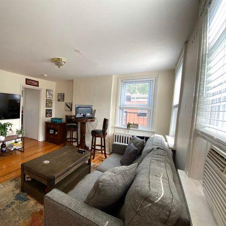 Rent this 1 bed apartment on 647 Garden Street in Hoboken, NJ 07030