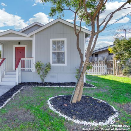 Rent this 3 bed house on 130 G Street in San Antonio, TX 78210