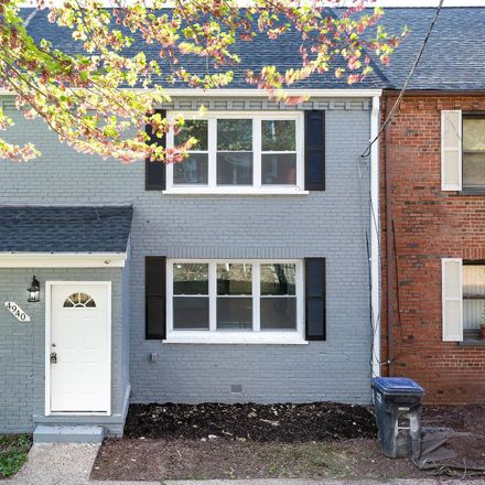 Rent this 3 bed townhouse on 4940 Just Street Northeast in Washington, DC 20019