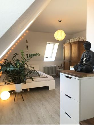 Rent this 1 bed apartment on Kissinger Straße 69 in 70372 Stuttgart, Germany