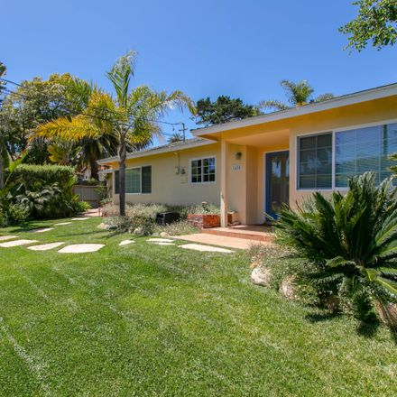 Rent this 3 bed house on 1430 Santa Rosa Avenue in Santa Barbara, CA 93109