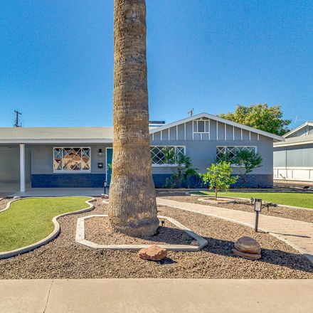 Rent this 4 bed house on 7349 East Garfield Street in Scottsdale, AZ 85257