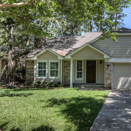 Rent this 3 bed house on 24 Edgewood Forest Court in The Woodlands, TX 77381