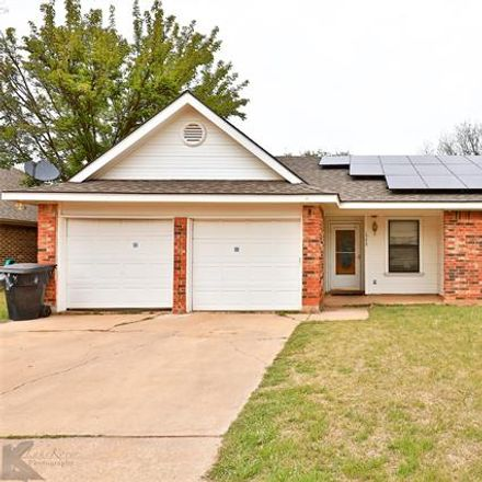 Rent this 3 bed house on 1542 Friars Street in Abilene, TX 79602