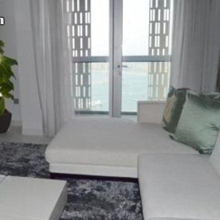 Rent this 1 bed apartment on Dubai Marina Mall in Marina Walk, Dubai Marina