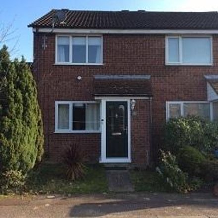 Rent this 2 bed house on 38 Amderley Drive in Norwich NR4 6HZ, United Kingdom