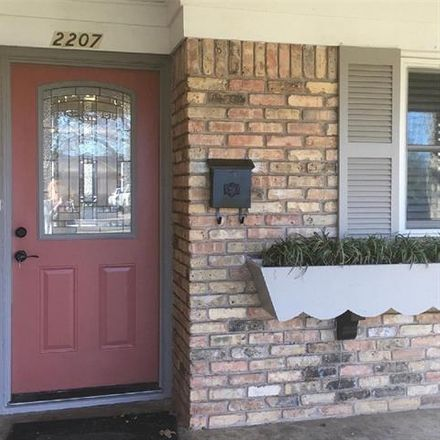 Rent this 4 bed house on 2207 Granada Drive in Irving, TX 75060