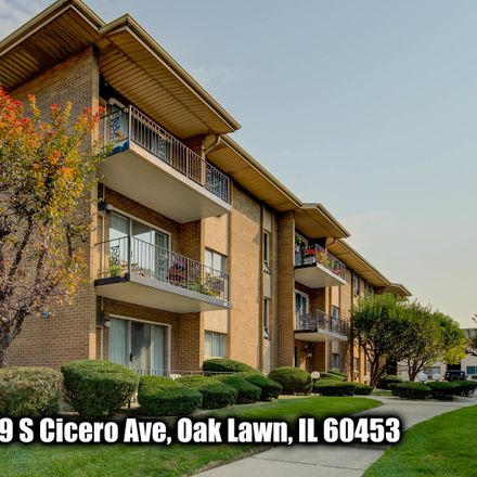 Rent this 2 bed condo on 10109 South Cicero Avenue in Oak Lawn, IL 60453