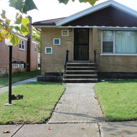 Rent this 3 bed house on 14436 Center Avenue in Harvey, IL 60426