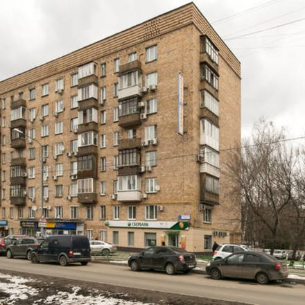 Rent this 1 bed apartment on Ломоносовский проспект 34А in Ramenki District, Moscow