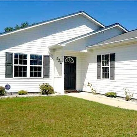 Rent this 3 bed house on 322 Top Knot Rd in Hubert, NC