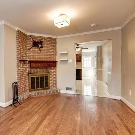 Rent this 3 bed townhouse on 203 East Heath Street in Baltimore, MD 21230