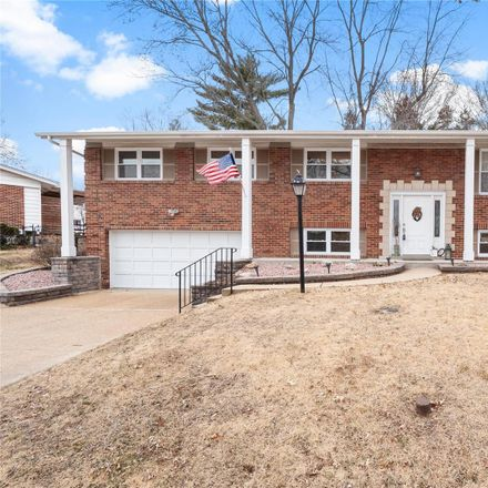 Rent this 4 bed house on Tauneybrook Dr in Saint Louis, MO