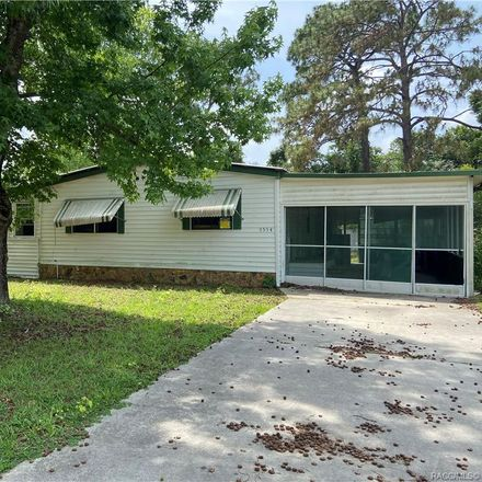Rent this 2 bed house on 5554 South Jeffrey Point in Homosassa Springs, FL 34446