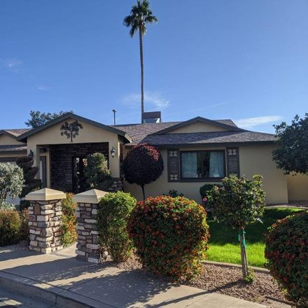 Rent this 3 bed house on 2239 West Jacinto Circle in Mesa, AZ 85202