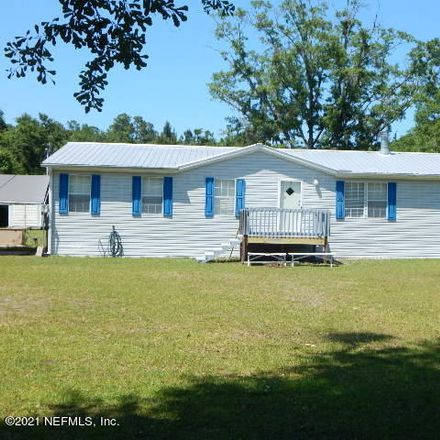 Rent this 3 bed house on 5957 Thomas Lane in Hampton, FL 32044