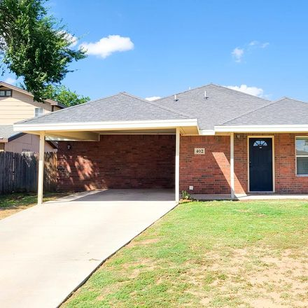 Rent this 3 bed house on 402 South Tilden Street in Midland, TX 79701