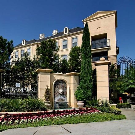 Rent this 1 bed condo on 3210 Watermarke in Irvine, CA 92612