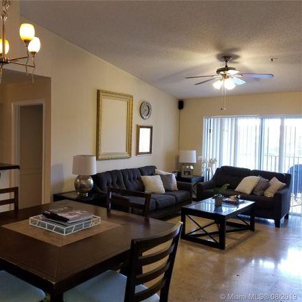 Rent this 3 bed condo on 2123 Renaissance Boulevard in Miramar, FL 33025