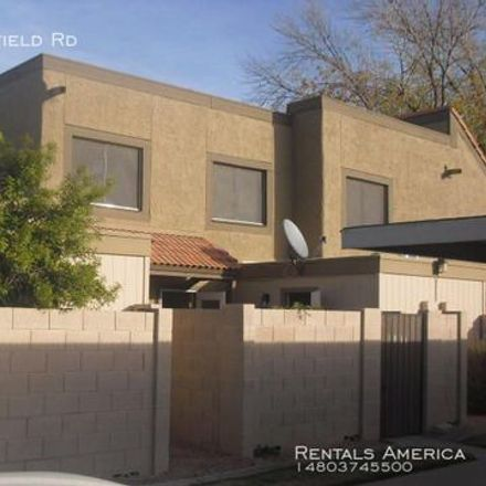 Rent this 2 bed apartment on 1024 East Redfield Road in Tempe, AZ 85283