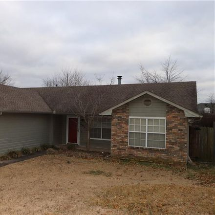 Rent this 3 bed house on 2857 Carley Pl in Springdale, AR