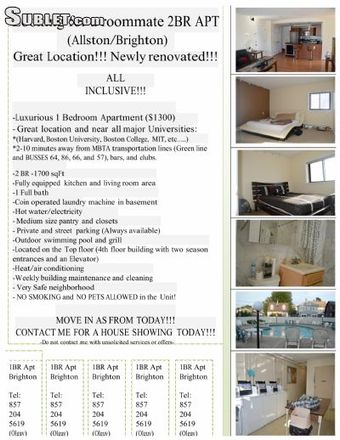Rent this 2 bed apartment on 18 Glencoe Street in Boston, MA MA 02135