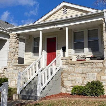 Rent this 2 bed house on Delor St in Saint Louis, MO