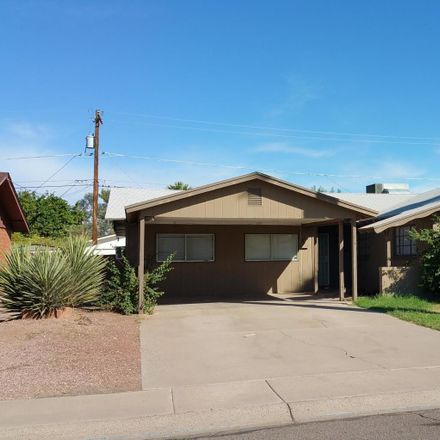 Rent this 4 bed house on 8232 East Montecito Avenue in Scottsdale, AZ 85251