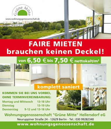 Rent this 3 bed apartment on Luckenwalder Straße 58 in 12629 Berlin, Germany