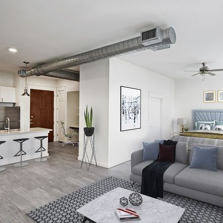 Rent this 1 bed apartment on The Star South Building in San Jacinto Street, Houston