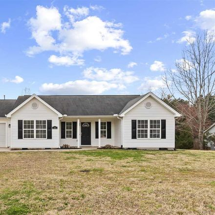 Rent this 3 bed house on Spring Estates Dr in Liberty, SC