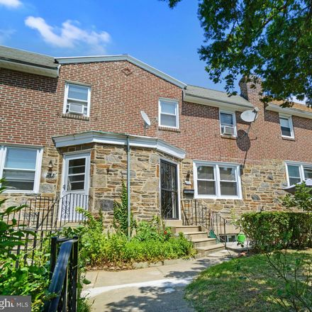 Rent this 3 bed townhouse on 211 Wingate Road in Upper Darby, PA 19082