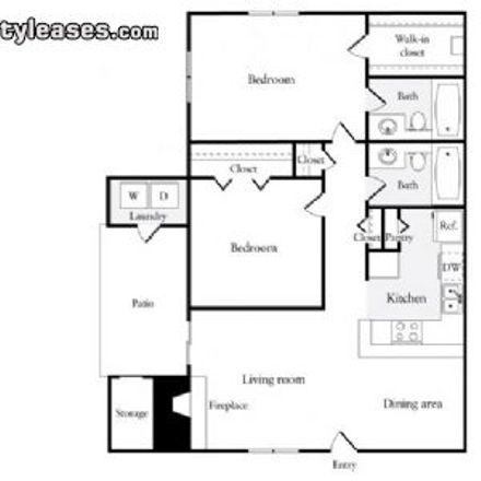 Rent this 2 bed apartment on 1323 Ygnacio Valley Road in Walnut Creek, CA 94598