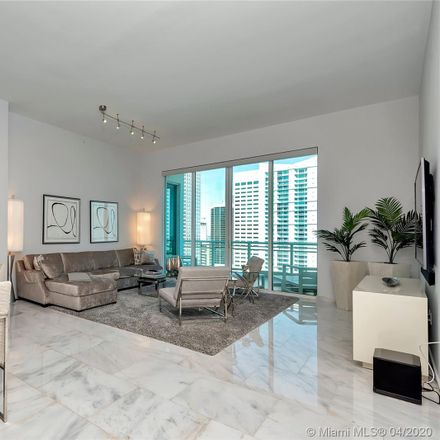 Rent this 2 bed condo on Asia in 900 Brickell Key Boulevard, Miami