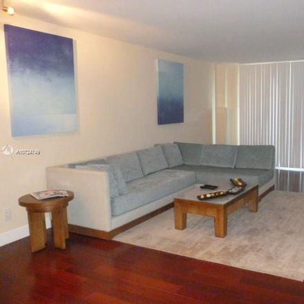 Rent this 1 bed condo on Ocean View Building B in 19380 Collins Avenue, Sunny Isles Beach