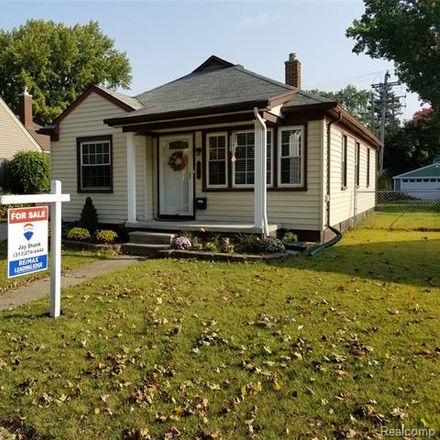 Rent this 3 bed house on Nowlin Street in Dearborn, MI 48124