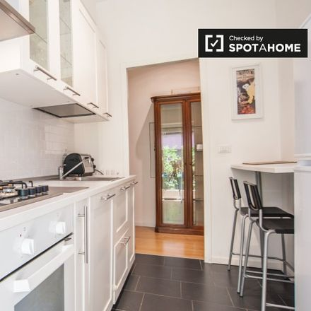 Rent this 2 bed apartment on Via Leopoldo Serra in 00153 Rome RM, Italy