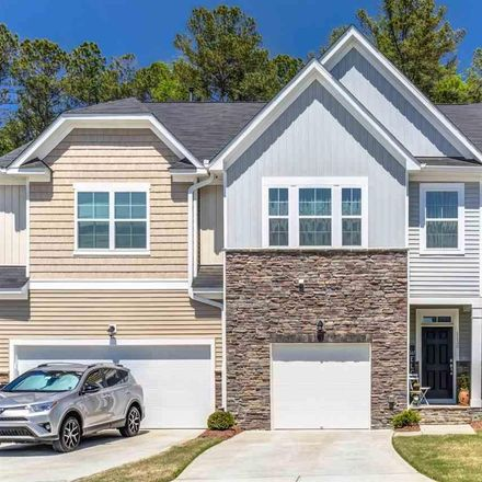 Rent this 4 bed townhouse on 1136 Southpoint Trail in Durham, NC 27713